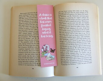 A Classic is a book that has never finished saying what it has to say - Quote Bookmark - Pastel Bookmark Collection