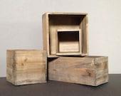 Wooden Planter Box, Rustic Planter, Wooden Vases, Rustic Decor, Rustic Wedding Decor, Joanna Gaines Decor, Fixer upper