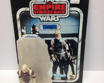 Star wars - ESB - Complete Dengar Vintage Action Figure Toy Toys Kenner 80's Empire Strikes Back Collectible