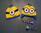 Crochet Minion Hat