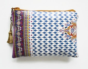 Ethnic Inspired Ladies purse/wallet/make-up/ cosmetic pouch
