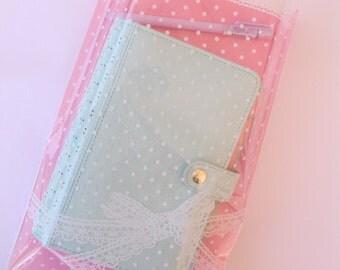 Large Pink Ribbon Bow Polka Dot bags
