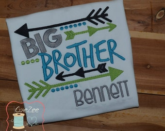 Big Brother/Sister Little Brother/Sister Sibling Onepiece/Shirt