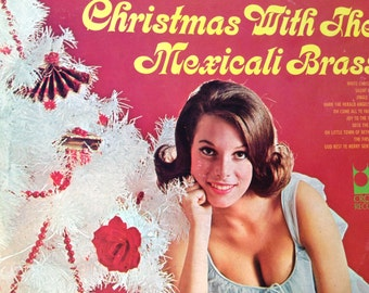 Christmas With The Mexicali Brass - vinyl record