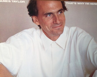 James  Taylor - That's Why I'm Here - vinyl record