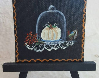 Harvest Cloche. Free easel and shipping with purchase.