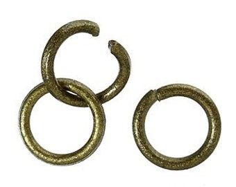 200 - 4mm Bronze Jump Rings