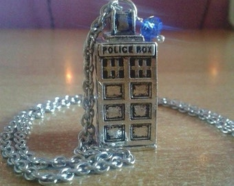 Doctor Who T.A.R.D.I.S. Inspired Necklace