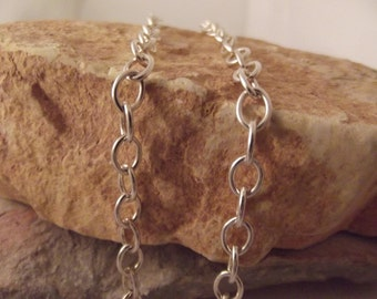 Sterling Chain...large link..