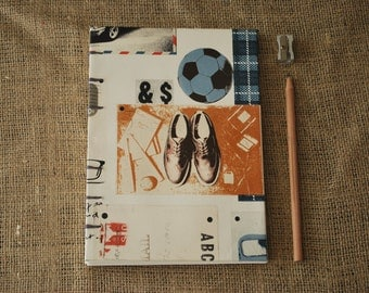 Hipster Typewriter journal (A5) *SALE*