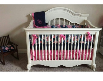 Baby Girl Crib Bedding Nisi Flora Oceanon