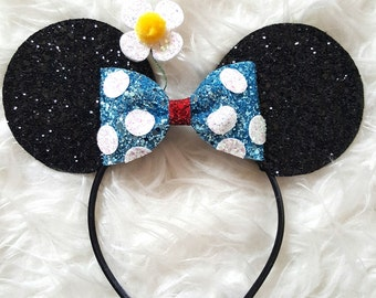 Classic Minnie Mouse Ears Headband || Minnie Mouse Birthday || Minnie Mouse Headband  || Minnie Ears