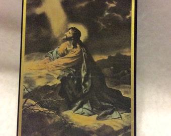 Vintage 1940's Gethsemane Bit O Sunshine plaque.