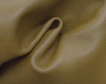 "Leather Two Toned Peanut Butter Brown 20"" x 20"" Cow Hide Project Piece 3 1/2 ounces TA-43996 (Sec. 1,Shelf 1,B)"