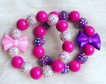Girls bracelet set.. Girls bracelets.. Party favors