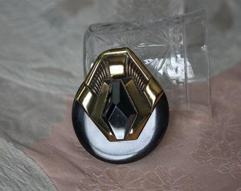 Art Deco Vintage Ermani Bulatti Pin