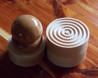 Corzetti Pasta Stamp ~ Customized Stamp Chef ~ Food Corzetti Croxetti ~ Kitchen Gadget Pasta Press ~ Corzetti Stamped Pasta ~ Pasta Press