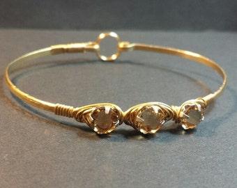 Gold Bracelet, NuGold Bangle Bracelet, Gold Bangle