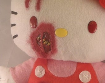 Creepy Cute Zombie Kitty Back Pack