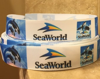 5 YDS Sea World Ribbon