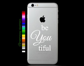 BeYouTiful Phone Decal