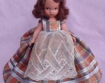 N-2485 NANCY ANN Story Book Doll 58 WESTERN Bisque