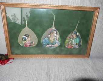 INDIA FIG LEAF Paintings