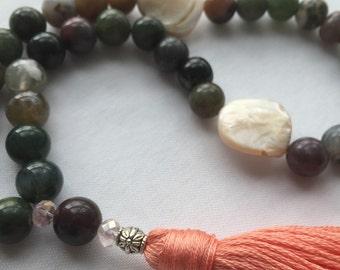 Tesbih - Islamic Prayer Beads - Jasper Stone 33 Muslim Prayer Beads - Tasbih -Tasbeeh - Misbaha - Worry Beads -Ramadan Gift - Dhikr