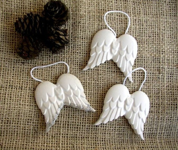 Angel Wings Home Decor: Items Similar To Set Of 6 Angel Wings