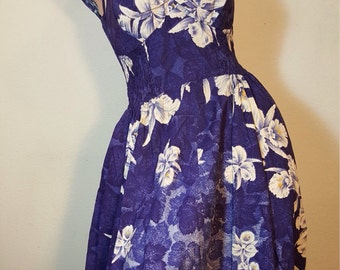 FREE  SHIPPING    1950  Kamehameha Dress
