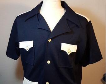 FREE  SHIPPING  1970 Men Retro Shirt  Jacket