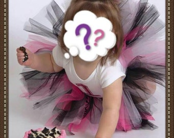 One year old pink zebra print birthday outfit,tutu outfit, zebra outfit, pink zebra print, first birthday outfit, first birthday tutu set,