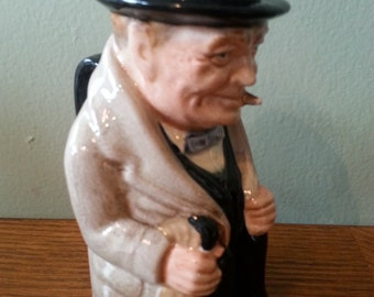 Royal Doulton Winston Churchill Toby Mug
