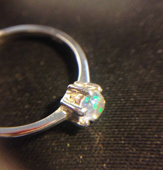 Items Similar To Opal Ring Exquisite Braided Opal: Items Similar To Mexico Fire Opal On Sterling Silver Ring