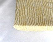 Gold Freeform Arrows Minky Changing Pad Cover - Nursery Essentials - Premium Crib Bedding