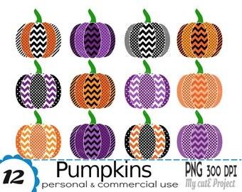 Pumpkin Clipart - Pumpkin halloween - Pumpkin png - Pumpkins vector - Scrapbooking halloween - CA31
