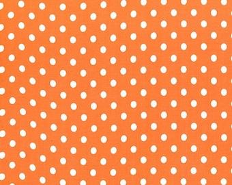 Tangerine Orange Dumb Dots, from Michael Miller Fabrics