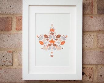 Autumn Leaves - Gicleé print