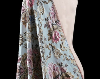 "Jacquard fabric  Brocade fabric - 145 cm wide x 50 cm (57""x 19.5"")-J"