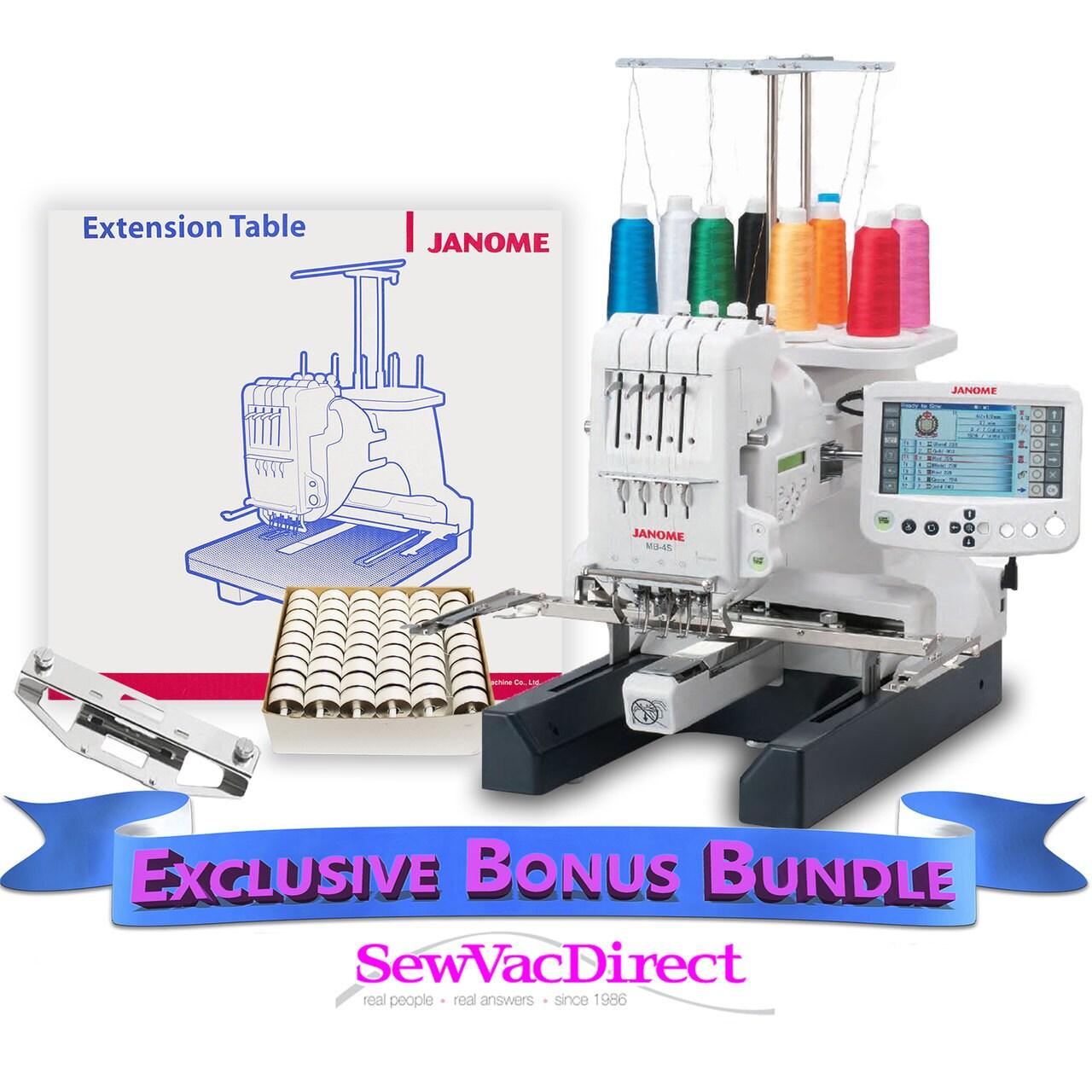 4 needle embroidery machine