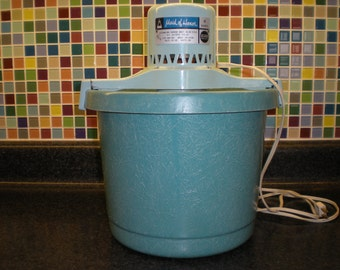 proctor silex ice cream maker instructions