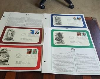 4 FDI Christmas Stamp