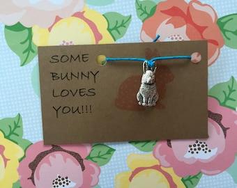 Some Bunny loves you! Bracelet