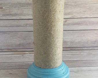 Turquoise Candle holder beach Eco friendly READY TO SHIP