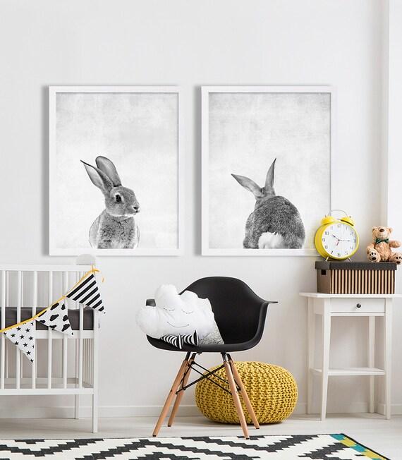 Baby Tier Kinderzimmer Kunst moderne Kinderzimmer druckt