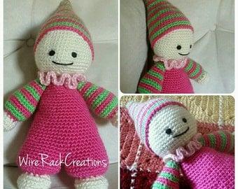 Crochet cuddly baby