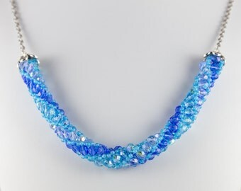Blue Russian Necklace