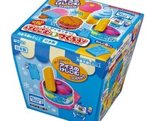 "Kutsuwa Japanese DIY Eraser making kit! ""Ice cream"" set!"