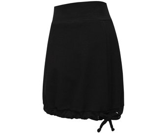 Sweatrock balloon skirt with pockets