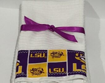 LSU Tigers Hand Towels